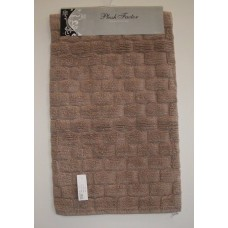 Bath Mat 1 Piece 100% cotton With Non Slip Backing #16