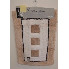 Bath Mat 1 Piece 100% cotton With Non Slip Backing #19