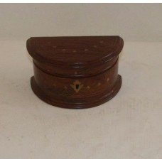 Jewelry Box Semi-Circle Shaped #15a