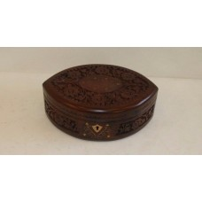 Jewelry Box Oval Pointed Shape #19a