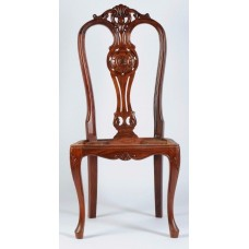 Carved Rosewood Timber Chair #03
