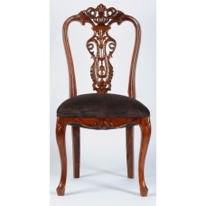 Carved Rosewood Timber Chair #05