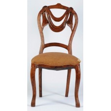 Carved Rosewood Timber Chair #08