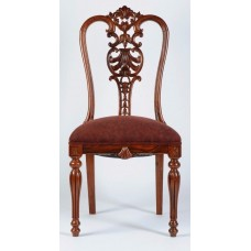 Carved Rosewood Timber Chair #10