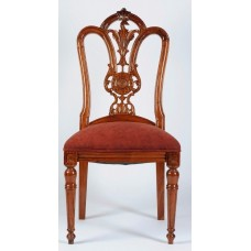 Carved Rosewood Timber Chair #13