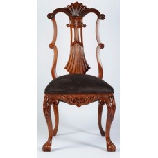 Carved Rosewood Timber Chair #14