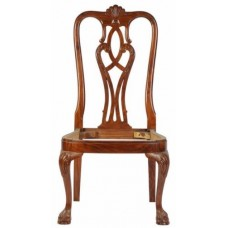 Carved Rosewood Timber Chair #18
