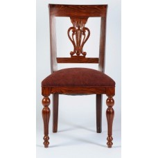 Carved Rosewood Timber Chair #21