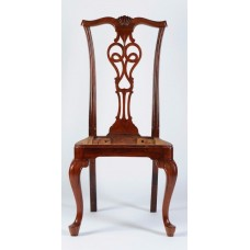 Carved Rosewood Timber Chair #22