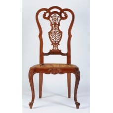 Carved Rosewood Timber Chair #23