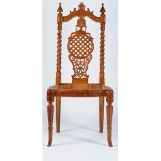 Carved Rosewood Timber Chair #28