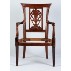 Carved Rosewood Timber Chair #29