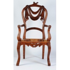 Carved Rosewood Timber Chair #31