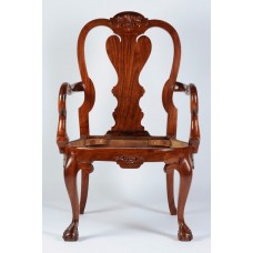 Carved Rosewood Timber Chair #32