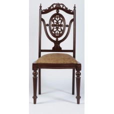 Carved Rosewood Timber Chair #37