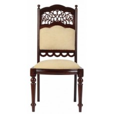 Carved Rosewood Timber Chair #38