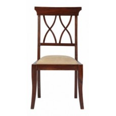 Carved Rosewood Timber Chair #39
