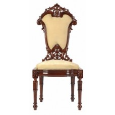 Carved Rosewood Timber Chair #44
