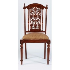 Carved Rosewood Timber Chair #45