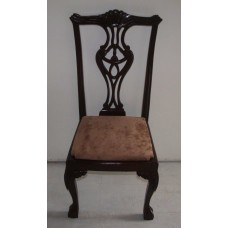 Carved Rosewood Timber Chair #48