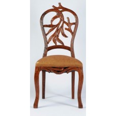 Carved Rosewood Timber Chair #06