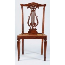 Carved Rosewood Timber Chair #07