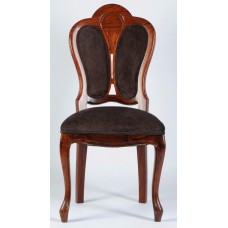 Carved Rosewood Timber Chair #12