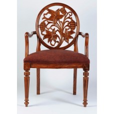Carved Rosewood Timber Chair #15