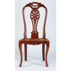 Carved Rosewood Timber Chair #19
