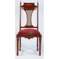 Carved Rosewood Timber Chair #43