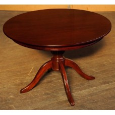 Handcrafted Rosewood Round Dining Table #1107