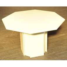 Wooden White Dining Table Handmade #1114