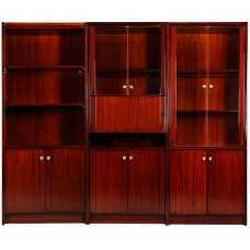 Wooden Wall Unit Set #402